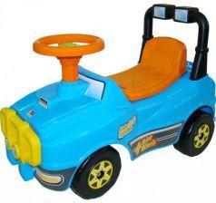Каталка-машинка Полесье Джип голубой от 1 года пластик