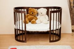 Кроватка-диван Красная Звезда Паулина-2 С422 (шоколад)