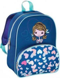 Дошкольный рюкзак HAMA Lovely Girl голубой синий 00139103