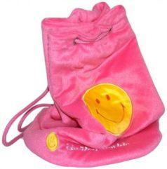 Рюкзак декоративный Flavio Ferrucci со смайликом розовый
