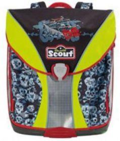 Ранец с наполнением Scout NANO EXKL ВЕСЕЛЫЙ РОДЖЕР 714005-668 19 л черный