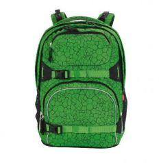 Рюкзак ручка для переноски 4YOU PEKKA 115601-887 33.5 л зеленый абстракция