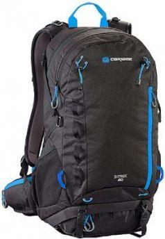 Рюкзак с анатомической спинкой CARIBEE X-trek 40 л черный синий