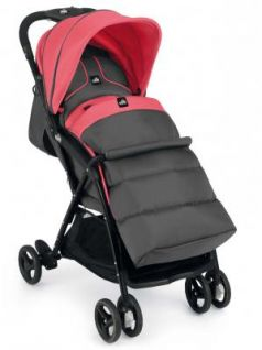 Коляска прогулочная Cam Curvi (121/темно-серый/розовый)