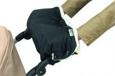 Муфта для коляски из овчины с длинным ворсом Bozz (черный\белый/20-2018-1)