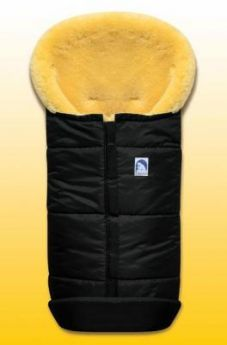 Конверт из овчины Heitmann Felle 975 Premium Lambskin Cosy Toes (черный)