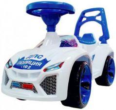 """Каталка-машинка Orion """"Ламбо"""" - Полиция бело-синий от 3 лет пластик звук"""