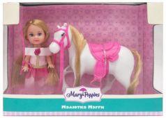 "Кукла Mary Poppins ""Малютка Мэгги"" - Любимая лошадка 9 см"