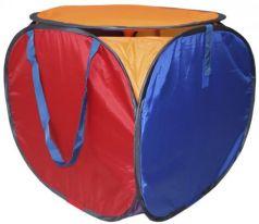 Корзина для игрушек с крышкой BELON 2 синтетика разноцветный КК-001