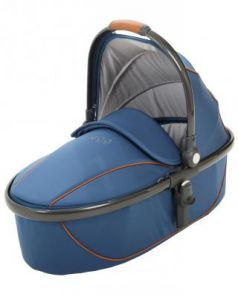 Люлька Egg Carrycot Petrol Blue & Gun Metal Frame