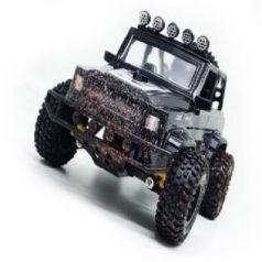 Машинка на радиоуправлении Пламенный мотор Джип Сафари пластик, металл от 3 лет черный