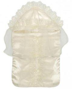 Конверт на выписку 6 предметов Золотой Гусь Версаль (молочный)