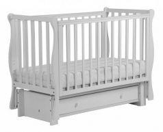 Кровать с маятником Кубаночка-4 БИ 40 (белый)