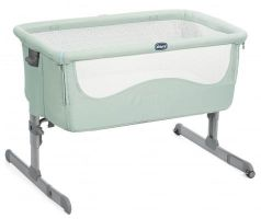 Кроватка Chicco Next2me (dusty green)