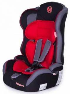 Автокресло Baby Care Upiter Plus (black-red)