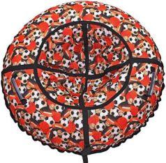 """Тюбинг R-Toys """"Футбольные мячи"""" до 120 кг рисунок полипропилен ПВХ 6790"""