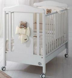 Кроватка Baby Expert Trudino (белый)