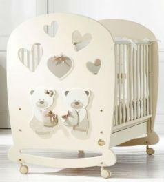 Кроватка-качалка Baby Expert Bon Bon (кремовый)