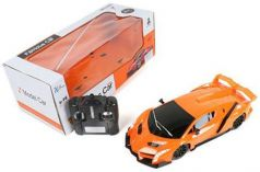 Машинка на радиоуправлении Shantou Gepai Famous Car оранжевый от 5 лет пластик, металл 822-15