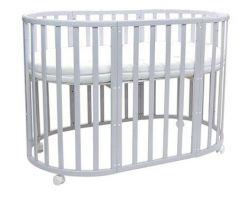 Кроватка Everflo Allure (gray)