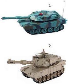 """Танк на радиоуправлении Пламенный мотор """"Военная техника"""" - Abrams М1А2 пластик, металл от 6 лет цвет в ассортименте 870294"""