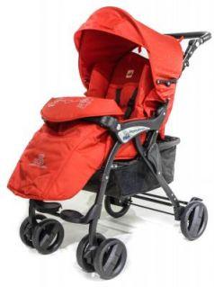 Прогулочная коляска Cam Portofino (цвет 404/красный с кристаллами)