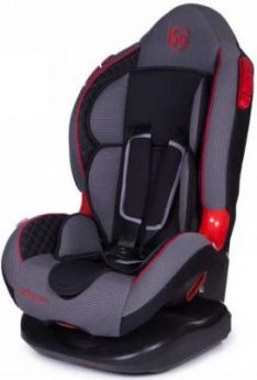 Автокресло Baby Care Polaris Isofix (серо-черный)