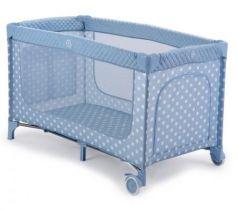 Кровать-манеж Happy Baby Martin (aqua)