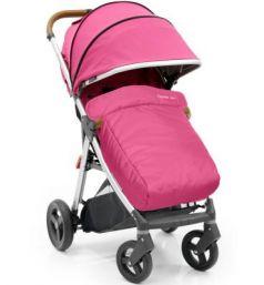 Прогулочная коляска с накидкой на ножки Oyster Zero (wow pink)