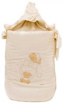 Конверт на молнии 40х80см Italbaby Sweet Angels (крем/730.0081-6)