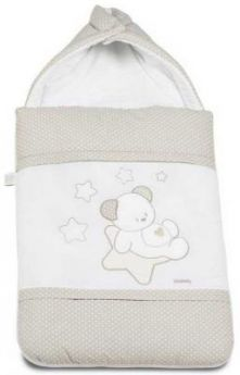 Конверт на молнии 40х80см Italbaby Sweet Star (крем/730.0037-6)