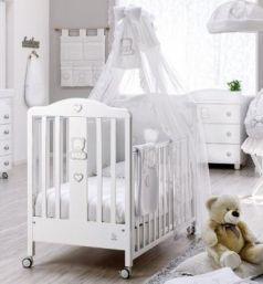 Кроватка Italbaby Amore (белый/070.0300-)