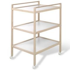 Стол для пеленания Geuther Alisa (натуральный/белый)
