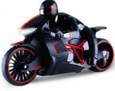 Мотоцикл на радиоуправлении 1toy Мотоцикл с гонщиком пластик от 3 лет красный