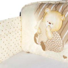 Бампер на кроватку Золотой Гусь Мишутка (бежевый)