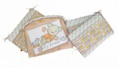 Бампер на кроватку Золотой Гусь Zoo Bear (бежевый)