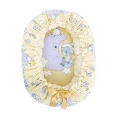 Подушка-валик-гнездо Золотой Гусь Овечка на луне (бежевый)