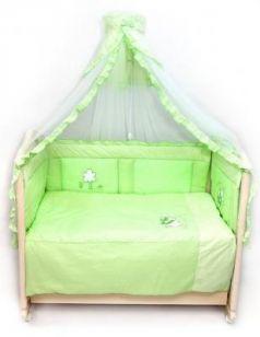 Бампер на кроватку Bombus Светик (зеленый)