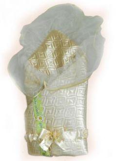 Одеяло на выписку Bombus Мила (бежевый)