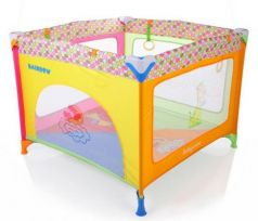 Манеж Baby Care Rainbow (РО2-F)
