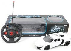 Машинка на радиоуправлении Shantou Gepai Sport Car пластик, металл от 3 лет белый