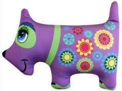 Собака фиолетовая