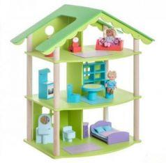 Кукольный домик Фиолент, для кукол до 15 см (14 предметов мебели)