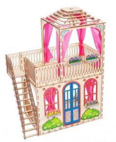 Сборная деревянная модель Домик для кукол Мечта