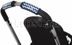 Чехлы Choopie CityGrips на ручки для универсальной коляски(330 chevron navy синий)