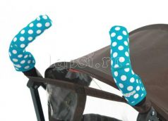 CityGrips (369 polka-dot aqua голубой)