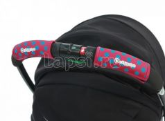 Чехлы Choopie CityGrips на ручки для универсальной коляски(372 polka-dot pink розовый)