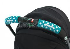 Чехлы Choopie CityGrips на ручки для универсальной коляски(370 polka-dot aqua голубой)
