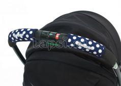 Чехлы Choopie CityGrips на ручки для универсальной коляски(368 polka-dot navy синий)