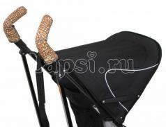 Чехлы Choopie CityGrips на ручки для коляски-трости(339 Brown Leopard коричневый)
